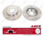 Тормозной диск Abe C3F003ABE