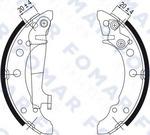 Комплект тормозных колодок Fomar FO 0343