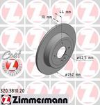 Тормозной диск Zimmermann 320381020