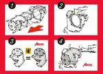 Водяной насос + комплект зубчатого ремня Airtex WPK-154503