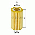Масляный фильтр Bosch F026407008