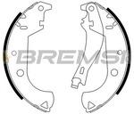 Комплект тормозных колодок Bremsi GF0184