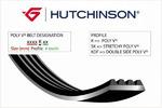 Поликлиновой ремень Hutchinson 860K5
