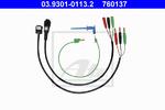 Кабельный комплект, проверочный прибор - колесный датчик Ate 03930101132