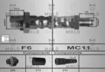Тормозной шланг Malo 80266