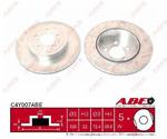 Тормозной диск (задний мост) Abe C4Y007ABE