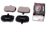 Комплект тормозных колодок, дисковый тормоз Protechnic PRP0184