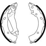 Комплект тормозных колодок Hella 8DB 355 000-401