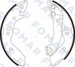 Комплект тормозных колодок Fomar FO 9073