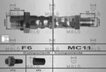 Тормозной шланг Malo 80264