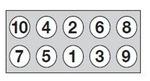 Комплект болтов головки цилидра Goetze 2201321B