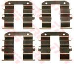 Комплектующие, колодки дискового тормоза Trw PFK576
