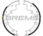 Комплект тормозных колодок Bremsi GF0165