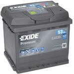 Стартерная аккумуляторная батарея Exide EA530