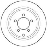 Тормозной диск Jurid 562756JC