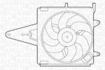 Вентилятор, охлаждение двигателя Magneti Marelli 069422202010