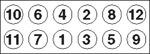Комплект болтов головки цилидра Payen HBS024