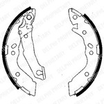 Комплект тормозных колодок Delphi LS1836