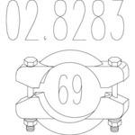 Соединительные элементы, система выпуска Mts MTS 02.8283
