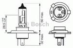 Лампа накаливания, фара дальнего света Bosch 1 987 302 041