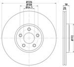 Тормозной диск Mintex MDC1937