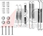 Комплектующие, тормозная колодка A.b.s. 0726Q