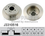 Тормозной диск Nipparts J3310516