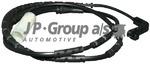 Датчик, износ тормозных колодок Jp Group 1497301300