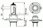 Лампа накаливания, фара дальнего света Bosch 1 987 302 071