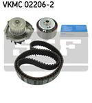 Водяной насос + комплект зубчатого ремня Skf VKMC022062