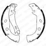 Комплект тормозных колодок Delphi LS1847