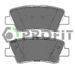 Комплект тормозных колодок, дисковый тормоз Profit PR 5000-4387
