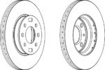 Тормозной диск (передний мост) Ferodo FE DDF1603