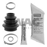 Комплект пылника, приводной вал (задний мост, со стороны колеса) Swag 20 92 6829