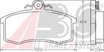 Комплект тормозных колодок, дисковый тормоз A.b.s. 36576
