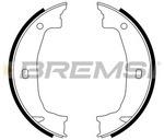 Комплект тормозных колодок, стояночная тормозная система Bremsi GF0079