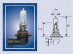Лампа накаливания, фара дальнего света Magneti Marelli 002577200000