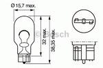 Лампа накаливания, фонарь указателя поворота Bosch 1 987 302 205