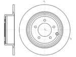 Тормозной диск (задний мост) Roadhouse 6129000