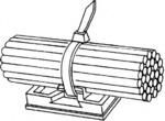 Липкая лента, крепление кабеля Hella 8HL707879012