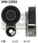 Натяжной ролик, ремень грм Skf VKM12501