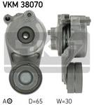 Натяжной ролик, поликлиновой  ремень Skf VKM 38070