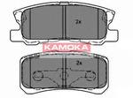Комплект тормозных колодок, дисковый тормоз Kamoka JQ1013678