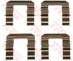 Комплектующие, колодки дискового тормоза Trw PFK577