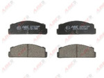 Комплект тормозных колодок, дисковый тормоз (задний мост) Abe C2F007ABE