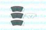 Комплект тормозных колодок, дисковый тормоз Kavo Parts KBP-3025