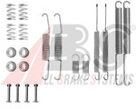 Комплектующие, тормозная колодка A.b.s. 0598Q