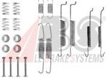 Комплектующие, тормозная колодка A.b.s. 0680Q