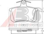 Комплект тормозных колодок, дисковый тормоз A.b.s. 36818