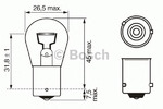 Лампа накаливания, фонарь указателя поворота (спереди) Bosch 1 987 302 213